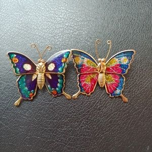 Vintage Butterfly Pins